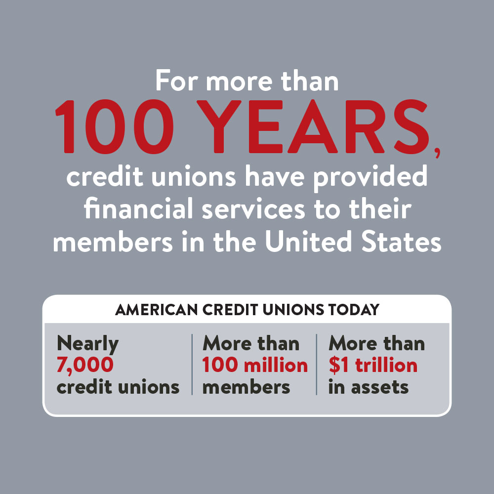 Credit unions have provided financial success.