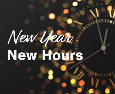 New Year New Hours